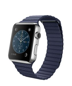 Apple | Watch 42mm Stainless Steel Case With Leather Loop