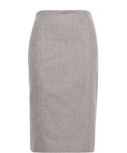 Polo Ralph Lauren | Шерстяная Юбка-Карандаш С Разрезом