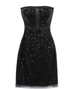 Basix Black Label | Платье-Бюстье С Пайетками И Перфорацией