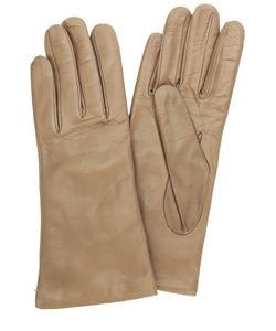Sermoneta Gloves   Кожаные Перчатки С Подкладкой Из Кашемира