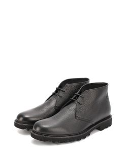 Giorgio Armani | Кожаные Ботинки На Рифленой Подошве