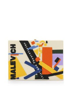 Olympia Le-Tan | Клатч Malevich С Аппликацией