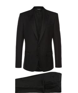 Dolce & Gabbana | Шерстяной Смокинг С Отделкой Из Шелка