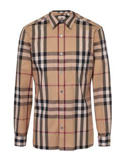 Burberry Brit | Хлопковая Рубашка С Воротником Кент