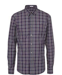 Bikkembergs | Хлопковая Рубашка С Воротником Кент Dirk