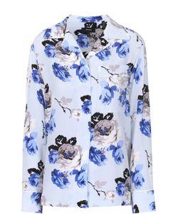 Theory | Шелковая Блуза В Пижамном Стиле С Цветочным Принтом