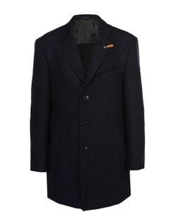 Baldessarini | Шерстяное Однобортное Пальто С Отложным Воротником