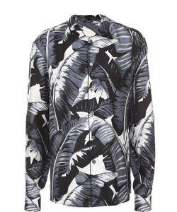 Dolce & Gabbana | Шелковая Сорочка С Принтом
