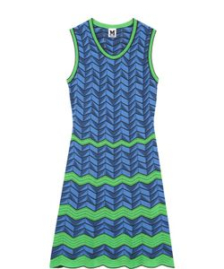 Missoni | Приталенное Мини-Платье С V-Образным Вырезом M