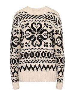Ralph Lauren | Кашемировый Пуловер Прямого Кроя С Контрастным Принтом