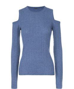 Elie Tahari | Пуловер Фактурной Вязки С Открытыми Плечами