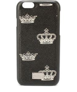 Dolce & Gabbana | Кожаный Чехол Для Iphone 6/6s