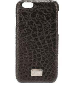 Dolce & Gabbana | Чехол Для Iphone 6/6s Из Кожи Крокодила