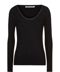 T By Alexander Wang | Облегающий Пуловер С Круглым Вырезом
