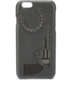 Dolce & Gabbana | Кожаный Чехол Для Iphone 6/6s С Аппликацией