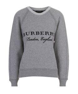 Burberry | Свитшот Свободного Кроя С Круглым Вырезом И Логотипом Бренда