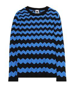Missoni   Облегающий Пуловер С Круглым Вырезом В Контрастную Полоску M