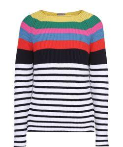 Mrz | Пуловер В Контрастную Полоску С Открытой Спиной
