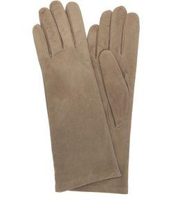 Sermoneta Gloves | Замшевые Перчатки С Подкладкой Из Кашемира
