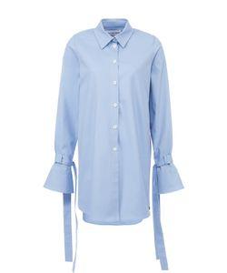 Walk of Shame | Удлиненная Блуза С Расклешенными Рукавами И Бантами