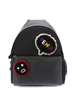 Fendi | Кожаный Рюкзак С Меховой Отделкой