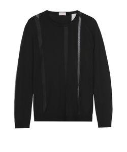 Mrz | Пуловер Прямого Кроя С Круглым Вырезом И Полупрозрачными Вставками