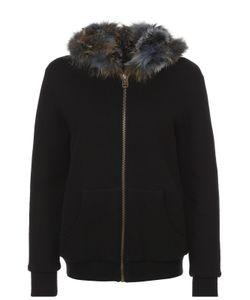 MR & MRS Italy | Куртка На Молнии С Меховой Отделкой И Капюшоном Mrmrs Italy