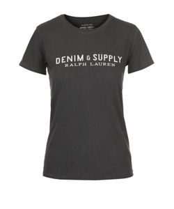 Denim & Supply Ralph Lauren | Хлопковая Футболка Прямого Кроя С Круглым Вырезом Denimsupply By Ralph Lauren