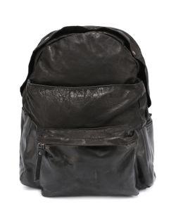 OXS RUBBER SOUL | Кожаный Рюкзак С Внешним Карманом
