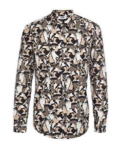 MSGM | Хлопковая Рубашка С Принтом