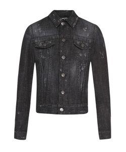 Dsquared2 | Укороченная Джинсовая Куртка Со Стразами