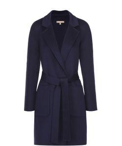 Michael Kors | Пальто Прямого Кроя С Поясом И Накладными Карманами