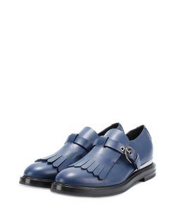 Casadei | Кожаные Ботинки С Бахромой И Ремешком