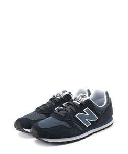 New Balance | Замшевые Кроссовки 373 С Текстильными Вставками