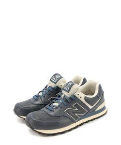 New Balance | Кожаные Кроссовки 574 На Шнуровке