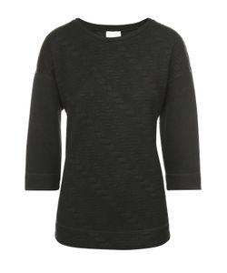 Escada Sport | Пуловер Прямого Кроя С Круглым Вырезом И Фактурной Отделкой