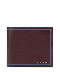Burberry | Кожаное Портмоне С Контрастной Отделкой