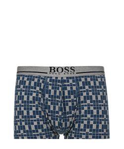 BOSS | Хлопковые Боксеры С Широкой Резинкой