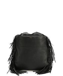 Givenchy | Кожаный Рюкзак С Декоративной Бахромой