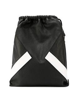 Neil Barrett | Кожаный Рюкзак С Контрастной Отделкой
