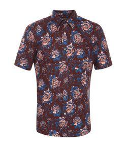 Burberry | Хлопковая Рубашка С Цветочным Принтом