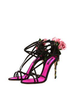 Dolce & Gabbana | Текстильные Босоножки Keira С Декором