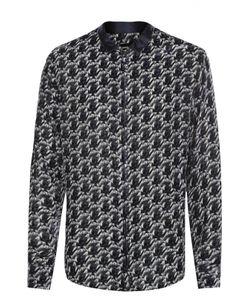 Giorgio Armani | Рубашка На Молнии Из Смеси Вискозы И Шелка