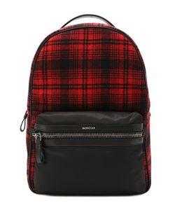Moncler | Текстильный Рюкзак С Внешним Карманом На Молнии