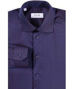 Eton   Хлопковая Рубашка С Воротником Акула