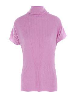 Armani Collezioni | Кашемировый Пуловер С Коротким Рукавом И Воротником Хомут