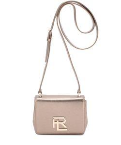 Ralph Lauren | Сумка Rl Mini Металлизированной Кожи