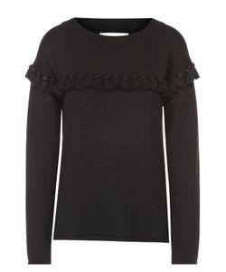 Chloe | Пуловер Прямого Кроя С Бахромой И Круглым Вырезом Chloé
