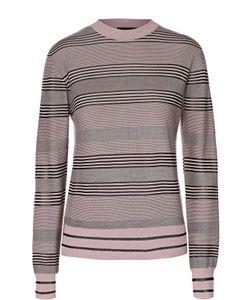Giorgio Armani | Пуловер Прямого Кроя В Полоску С Круглым Вырезом