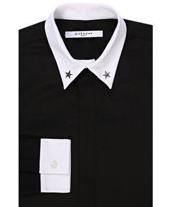 Givenchy | Хлопковая Рубашка С Контрастными Манжетами